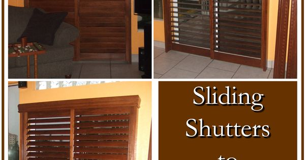 Modernize Your Sliding Patio Doors With Shutters