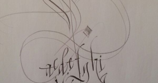 Sensual Calligraphy Scripts Initials Typography Styles