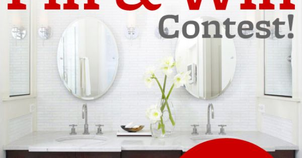 BHG's Pin & Win contest begins today! Create a 'Better Homes and