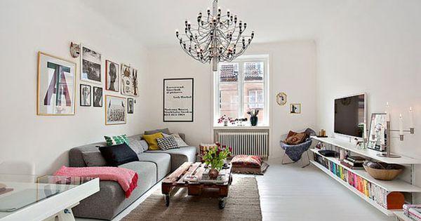 meuble design dans un s jour scandinave design. Black Bedroom Furniture Sets. Home Design Ideas