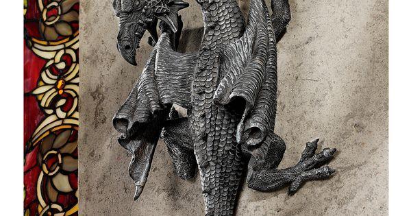 Horned Dragon Of Devonshire ~ Design Toscano