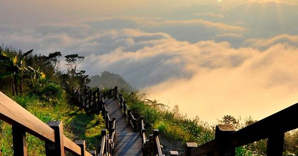 Yushan National Park, Taiwan. Stairway To Heaven. nikon cannon GoPro photography photograph