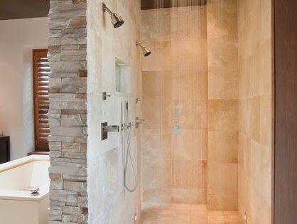 Dise o de interiores arquitectura 20 fascinantes ideas - Ducha de diseno ...