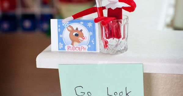 LOVE this!! Such cute ideas for Elf at Christmas time.