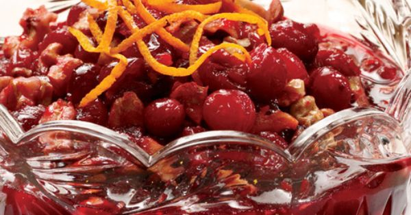 Cranberry, Cherry, and Walnut Marmalade | side dishes | Pinterest