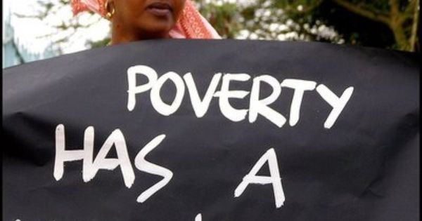 Poverty has a woman's face: Women perform 66 percent of the world's