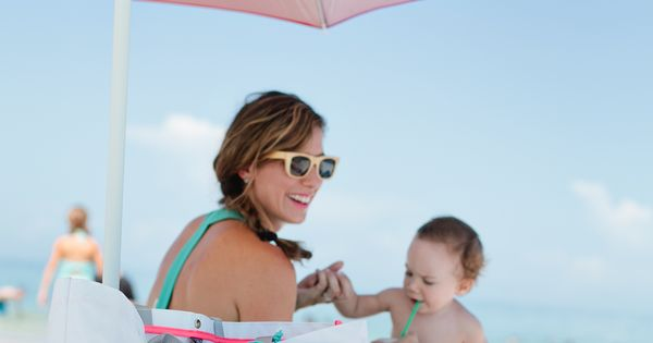 How to pack light for a day with kids at the beach,