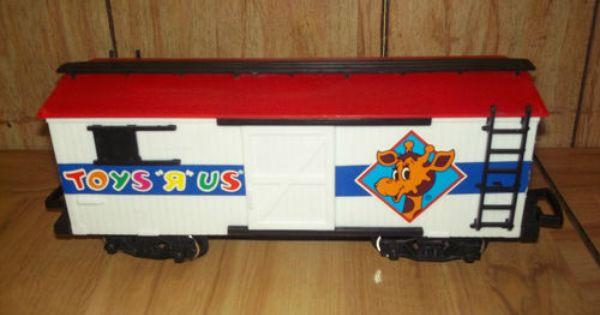 Toys R Us Trains : New bright toys r us boxcar g scale train car geoffrey