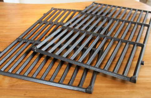 19 1 2 X 25 1 2 Two Piece Cast Iron Cooking Grate Set Grillparts Com Bbq Repair And Replacement Parts Cast Iron Cooking Bbq Grates Grill Parts