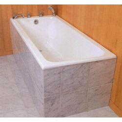 Flush Face Tile Front Tub In 2020 Drop In Tub Built In Bathtub Vintage Tub Bath