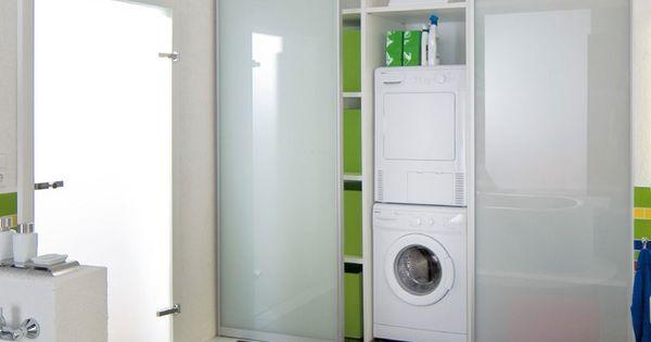 waschmaschinen schrank im bad bad pinterest waschmaschinen schr nkchen und b der. Black Bedroom Furniture Sets. Home Design Ideas