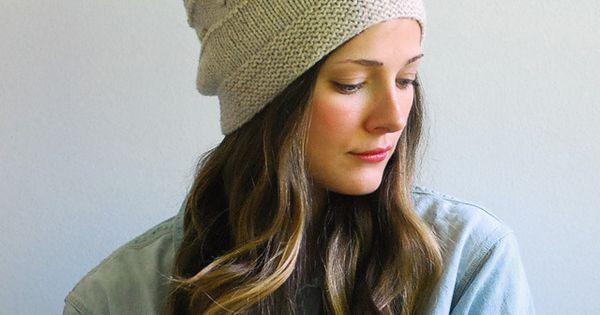Image of Snöflinga Hat Knitting Pattern Downloadable PDF