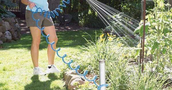 Home gardening tips easier weeding and watering water easy and gardens - Weeding garden make work easier ...