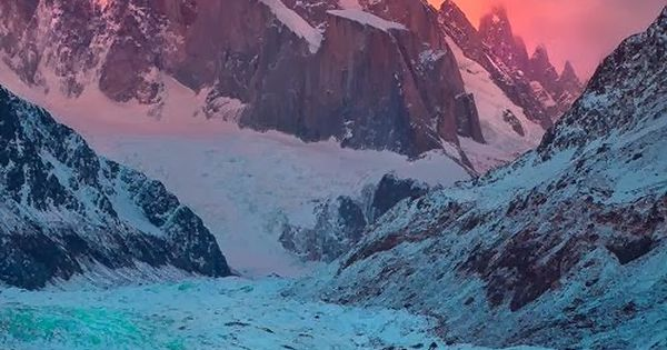 laguna torre, argentina. feel like after europe, south america has to be