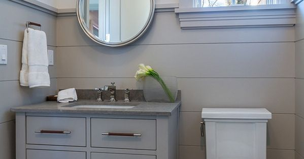 Benjamin Moore Shale 861 On Shiplap Walls And Cabinet Sir