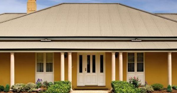 Paperbark Colorbond Roof Roofcolours L Roof Colours L Pinterest Roof Colors House Colors