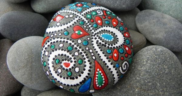 rock painting ideas pictures | Rock+Painting+Ideas | dirtbin designs
