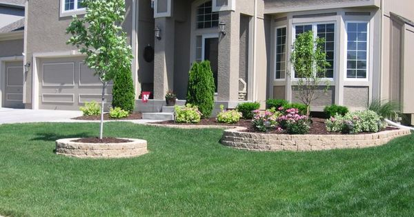 midwest front yard landscaping ideas - Google Search ...