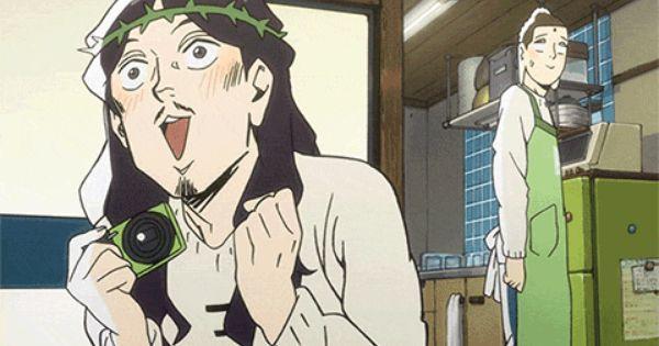 Saint Oniisan Anime Where Buddha And Jesus Can Be Roommates On