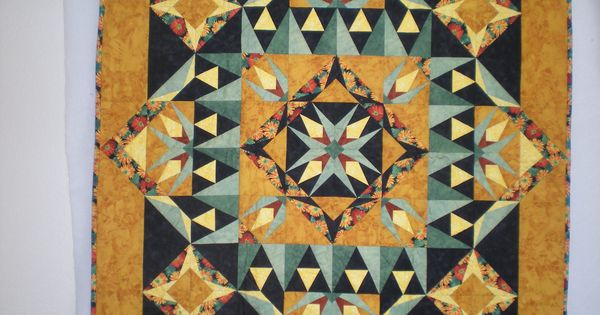 A Mystery Quilt From Carol Doak S Yahoo Group Round