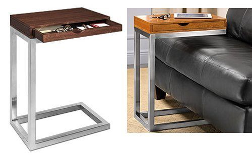 Add A Work Table Anywhere With The Room For My Sidekick Table The Gadgeteer Table Work Table Couch Table