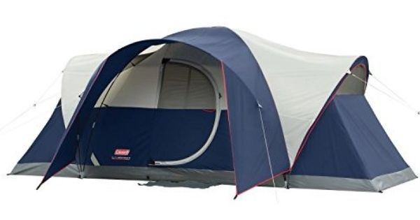 Coleman Elite Montana 8 Person Tent With Hinged Door 8 Person Tent Best Family Tent Coleman Tent