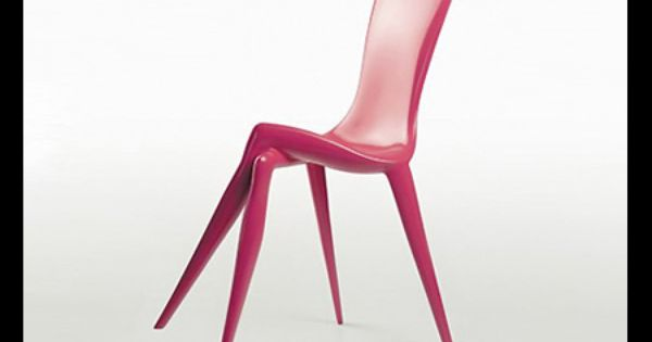 Very Odd Furniture Chairs Pinterest Pink