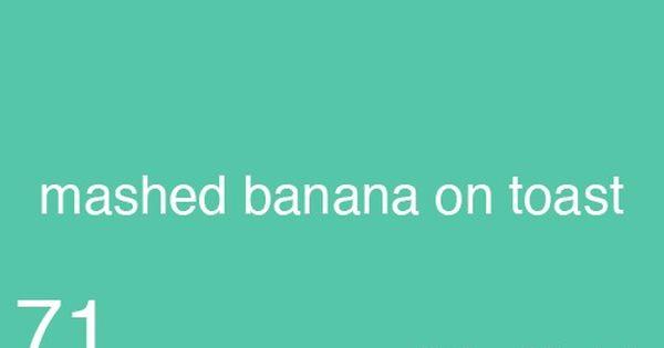 Mashed Banana On Toast Gilmore Girls Watch Gilmore Girls