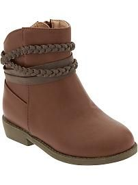 latest fashion special section price reduced Faux-Leather Ankle Boots for Baby....... So gotta get these for ...