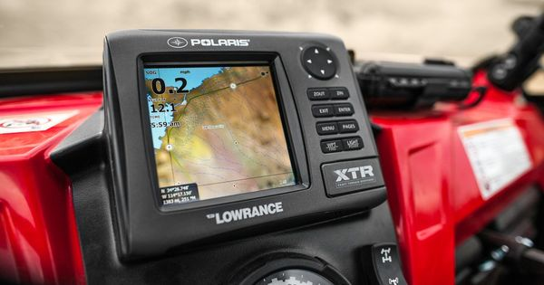 Polaris Xtr Gps By Lowrance New Products Atv Trail