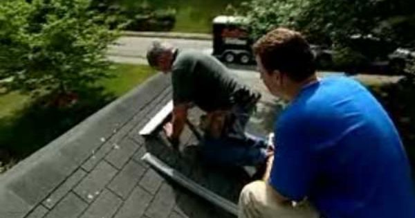 Preventing Roof Moss With Zinc Strips Roof Home Repair Green Education