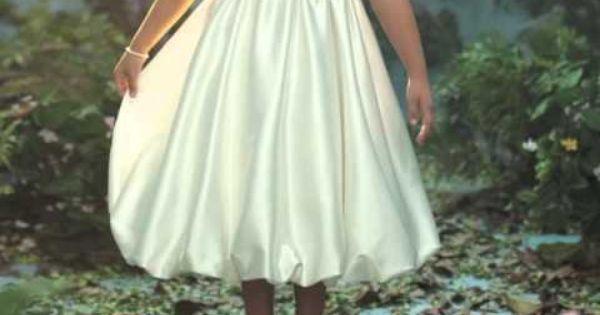 Disney Fairy Tale Weddings by Alfred Angelo http://www.youtube.com ...