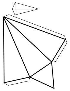 Piramide Triangular Como Hacer Figuras Geometricas Cuerpos Geometricos Para Armar Figuras Geometricas Para Armar