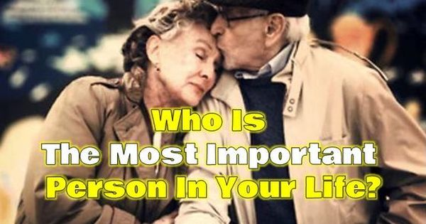 What's Most Important in Your Life?