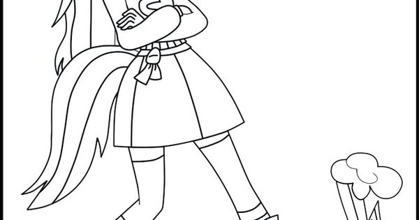 MLP Equestria Girls Coloring Pages