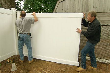 How To Install A Vinyl Privacy Fence Vinyl Privacy Fence Vinyl Fence White Vinyl Fence