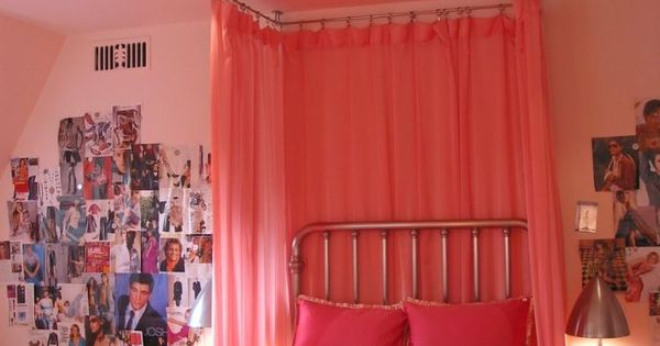 How to Make a Ceiling Canopy | Curtain Rods, Canopies and Curtains