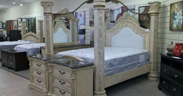 King Canopy Bedroom Set - Colleen's Classic Consignment, Las Vegas, NV