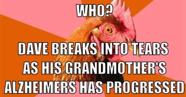 Anti Joke Chicken Sally: Anti-joke-chicken-meme-generator-knock-knock-who-s-there