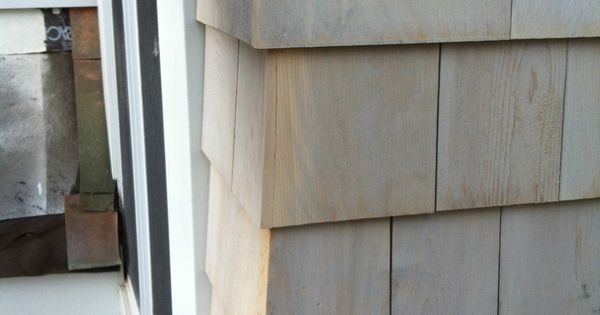 Cedar Shake Siding Corner Detail Michael Auldridge