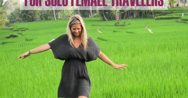 Safest Destinations for solo female travelers. If you're a female and traveling