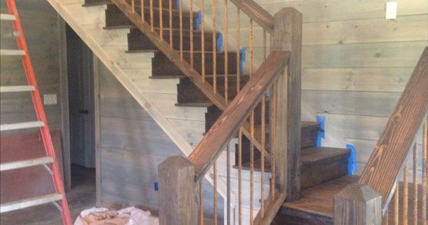 Best Staircase Rusted Rebar New House Pinterest 400 x 300