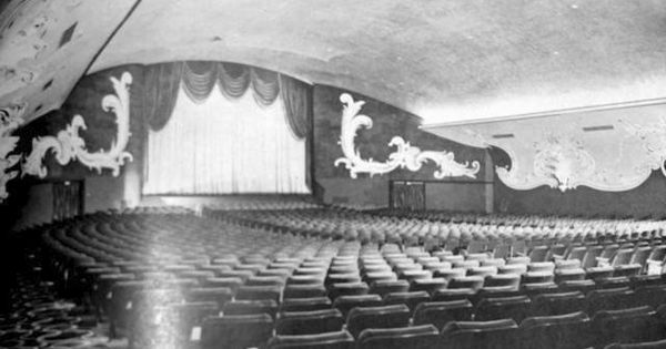 Another Photograph Of The Cornell Walk In Theatre In Burbank California This One Showing The Interior My Mom And Burbank Burbank California Theatre Interior