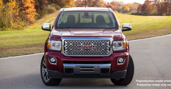Revealed Laautoshow The All New 2017 Gmccanyon Denali Coming