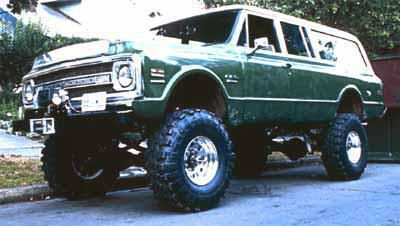 Chris Freeman S 1969 Chevy Suburban 4 X 4 A Stovebolt In