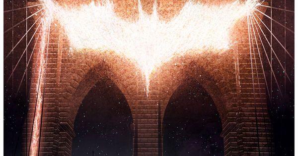 Cakes and Comics by Matt Ferguson: The Dark Knight Rises Poster