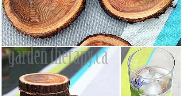 Recycle tree branches into | http://amazingstampgallery.blogspot.com Gift idea