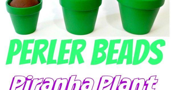 Create Your Own Mario Piranha Perler Bead Plants Anyone