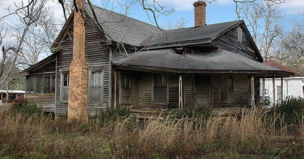 Reno Ga Grady County Abandoned Verncacular House Broom