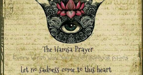 Hamsa Prayer Quotable Quotes Pinterest
